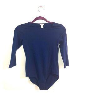Girls royal blue bodysuit